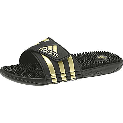 adidas Herren Adissage Aqua Schuhe, Mehrfarbig (Cblack/Goldmt/Cblack Cm7924), 42 EU (Aqua Adidas Schuhe)