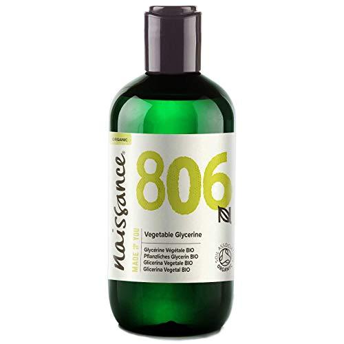 Naissance Glycérine Végétale BIO/Glycérol (n° 806) - 250ml - 100% pure et...