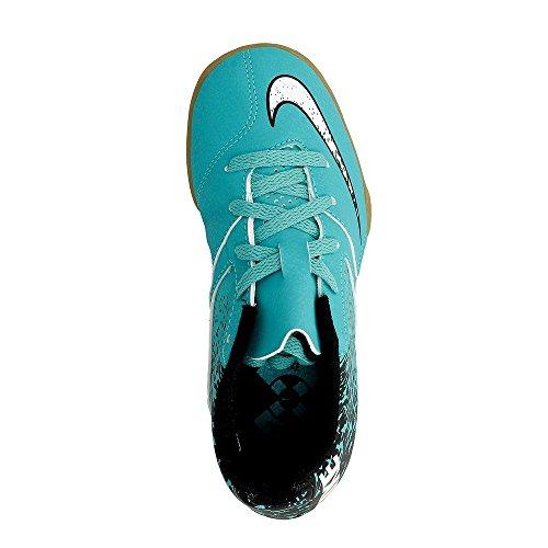Nike Jr Bombax Ic, Chaussures de Football Mixte Adulte Verde (Clear Jade / White-Black)