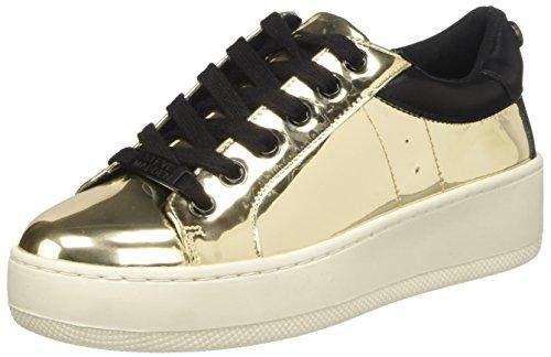 Steve Madden Bertie-m, Chaussures de Basketball femme Oro (Gold Mirror)