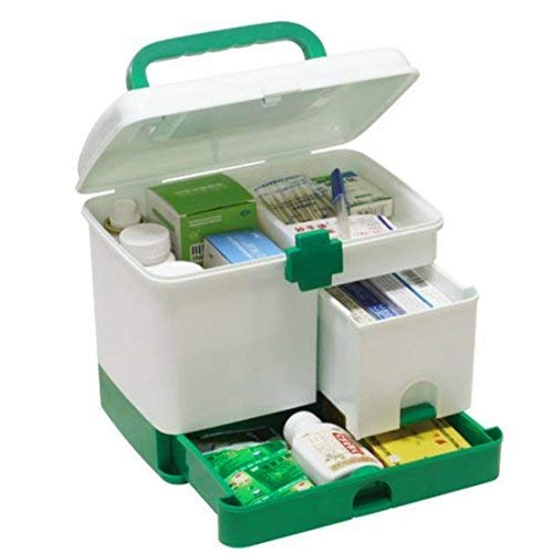MK Multi Functional First Aid Kit Medicine Box First Aid Kit Storage Boxes and Bins Assorted Color