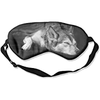 Black And White Dog Sleep Sleep Eyes Masks - Comfortable Sleeping Mask Eye Cover For Travelling Night Noon Nap... preisvergleich bei billige-tabletten.eu