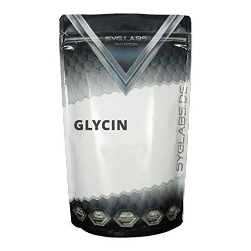 Syglabs Nutrition Glycin Pulver 100 Prozent rein Aminosäuren Pulver, 1er Pack (1 x 1 kg)
