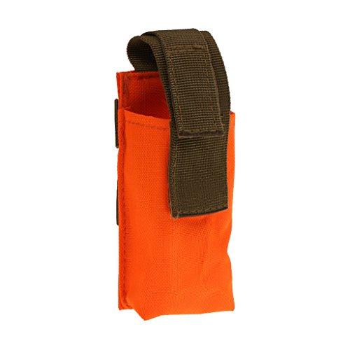 Gazechimp Outdoor Tourniquet Pouch Taktischer Stil Outdoor Notfalltasche Orange