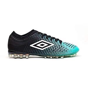 Umbro Velocita IV Pro AG, Botas de fútbol para Hombre, Verde (Black/White/Marine Green Gxv), 42.5 EU