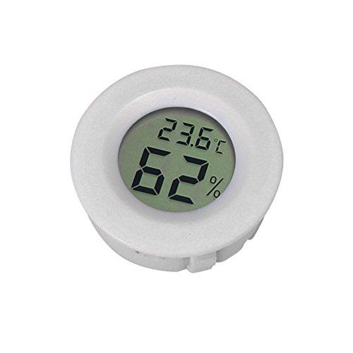 Zaote Reptil-Thermometer und Hygrometer Elektronisches Lizard-Terrarium Schildkröten-Box-Thermometer