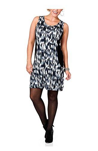 Kleid, schwarz-grau von Sheego Grösse 46