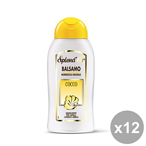 Set 12 SPLEND'OR Balsamo COCCO 300 Ml. Prodotti per capelli