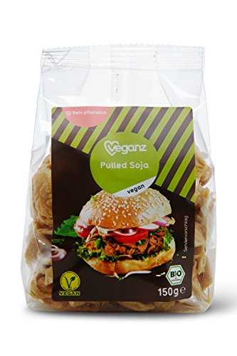 Veganz Bio Pulled Soja, 3er Pack (3 x 150 g) Test