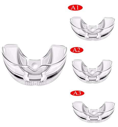 XMZWD Kieferorthopädischer Retainer, Invisible Orthodontic Trainer Zahnärztlicher Zahn, Der Die Verwendung Von Werkzeugen Zum Ausrichten Von Aufsätzen (DREI Stufen Sind Optional.)