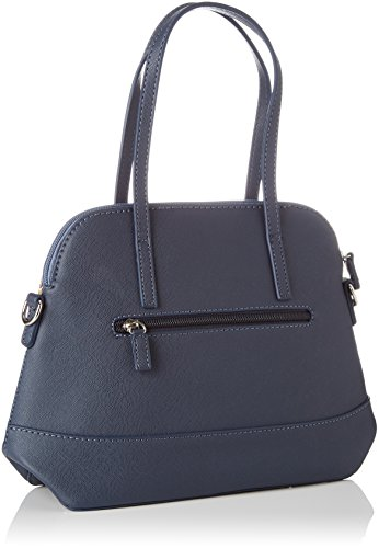 David Jones - 5750-1, Borse a mano Donna Blu (Blue)
