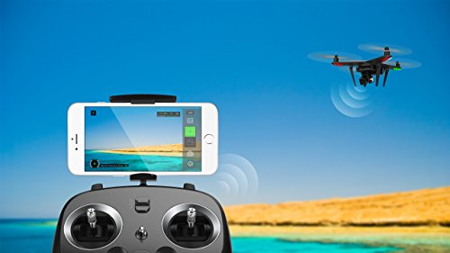 Xiro Xplorer Vision Drohne + Zusatzakku + Rucksack (Verfolgungsfunktion, Full HD Videos 1080p/30fps, 14 Mpx) - 3