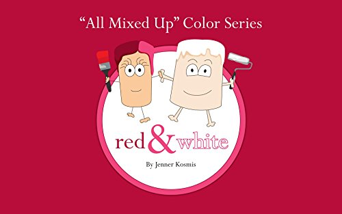 "ebook: ""All Mixed Up"" Color Series: Red & White (B016BZGR4A)"