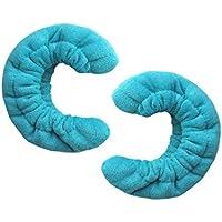 A+ Protège-lames de patins à glace en tissu éponge.