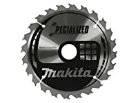 Makita B-09357 190mm x 30mm x 16T Specialized Knot and Nail Cutting Saw Blade