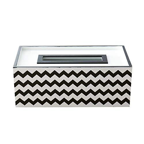 Tissue Box Cover Rechteckigen Tissue Box Holz Tissue Box Cover Schlafzimmer Frisiertisch, Nachttisch, Schreibtisch Taschentuchhalter (Color : C) -