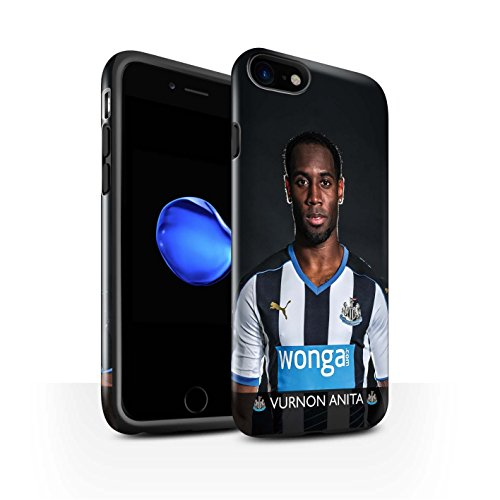 Officiel Newcastle United FC Coque / Brillant Robuste Antichoc Etui pour Apple iPhone 7 / Shelvey Design / NUFC Joueur Football 15/16 Collection Anita