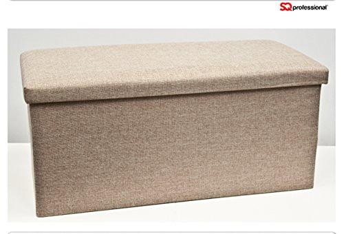 folding-ottoman-fabric-double-green-orange-grey-cream-brown-cream