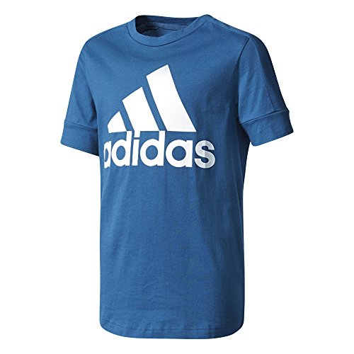 adidas Jungen ID T-Shirt, Blue Night/White, 128 Preisvergleich