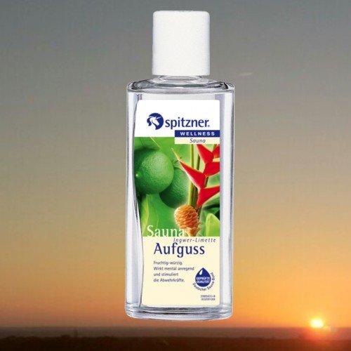 SPITZNER Saunaaufguss Ingwer Limette Wellness 190 ml Konzentrat