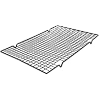 BESTONZON Besonzon Edelstahl Kekskühler Rack Backgestell zum Kochen Braten Trocknen Grillen (schwarz)