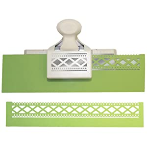 "41ywuA1svgL. SS300  - Martha Stewart Double Edge Punch-Diamond Fence, 1.25""X2.5"""