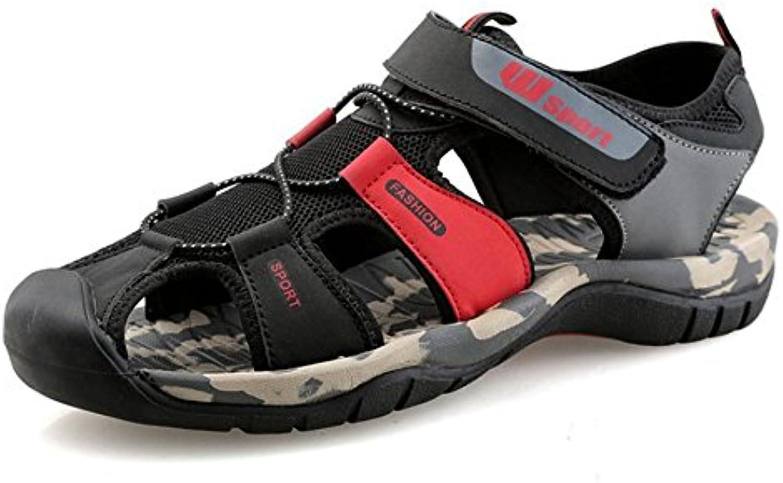 HAOYUXIANG Sandalias sandalias casuales para hombres sandalias sandalias para hombres sandalias Baotou sandalias  -