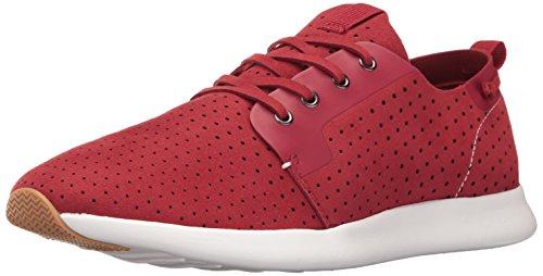 Steve Madden Men's Brixxon Fashion Sneaker, Red, 11 M US (Madden Sportschuhe Steve)