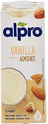 Alpro Drink Almond Vanilla Flavour - 1 liter (Pack of 1)