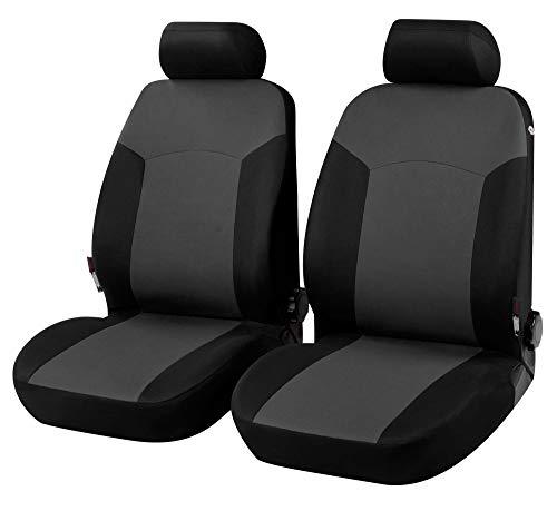 rmg-distribuzione Coprisedili Fodere R35 Grigio Nero per Giulietta Copri sedili Auto Anteriori