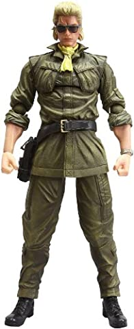 Square Enix Metal Gear Solid Peace Walker Play Arts Kai Volume 4 Miller Figure