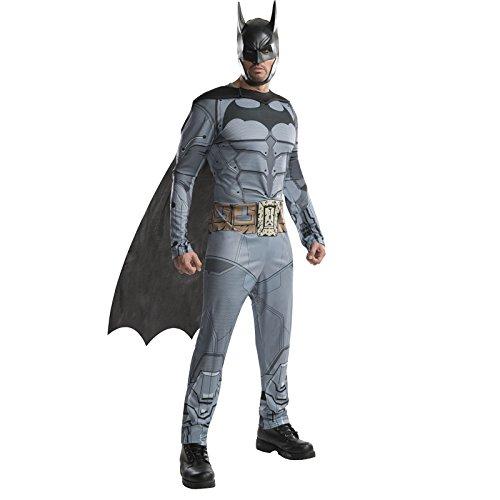 Rubie' s Costume da uomo DC Batman Arkham City, XL, petto 44–116,8cm, vita: 36–101,6cm, cavallo 83,8cm