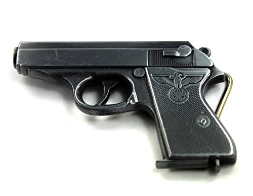handmade-vintage-knuckle-removable-black-eagle-bulldog-gun-lighter-metal-buckle