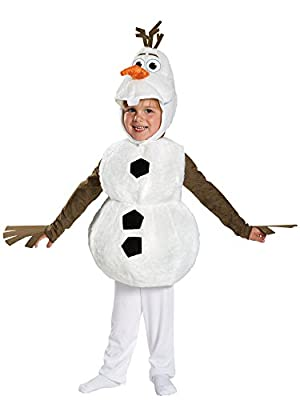 Toy Zany Disney Frozen Deluxe Olaf Traje | 3T-4T de Disguise