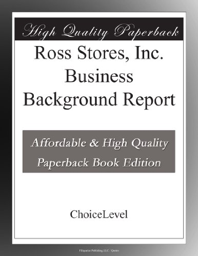 ross-stores-inc-business-background-report