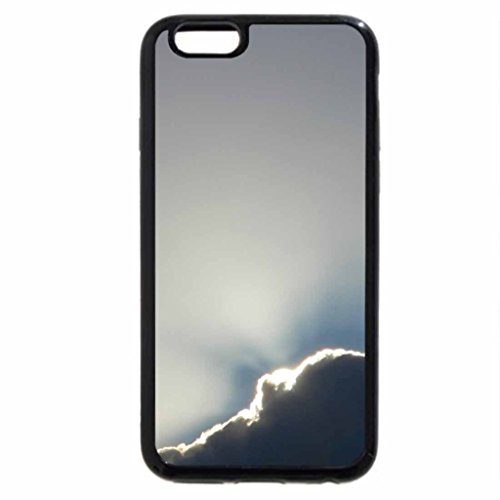 iPhone 6S Plus Case, iPhone 6 Plus Case (Black & White) - Goodbye blue sky