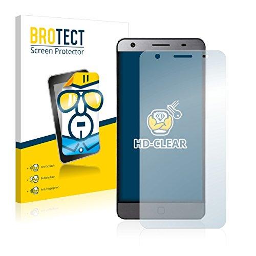 2X BROTECT HD Clear Bildschirmschutz Schutzfolie für Elephone P7000 (kristallklar, extrem Kratzfest, schmutzabweisend)
