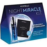 MONTIBELLO KIT NIGHT MIRACLE (Nº50 HAIR THERAPY OVERNIGHT ELIXIR 50ML + FACIAL ESSENTIALS RADIANCE BLACK
