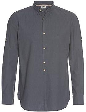 Distler Herren Hemd Corbinian in Leinenoptik Herren-Hemd,Hemd,Leinen-Hemd,Trachten-Hemd,