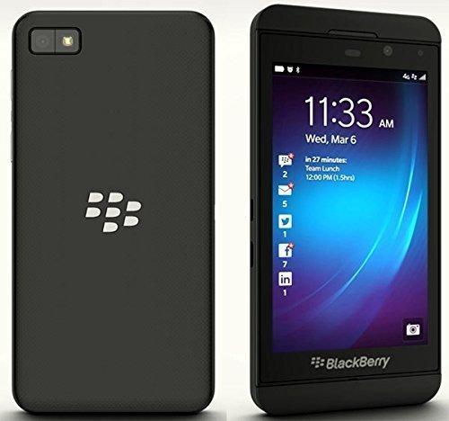 BlackBerry Z10 Smartphone, (4,2 Zoll Display, Touchscreen, 8 Megapixel Kamera, 16 GB erweiterbarer Speicher, 3G) schwarz