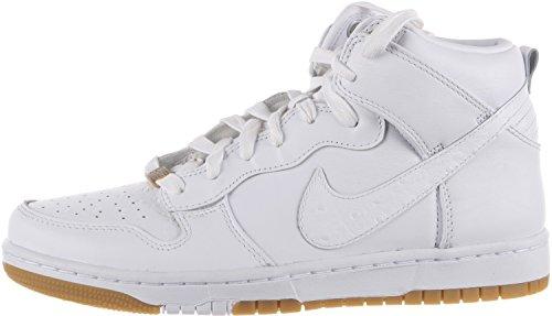 Nike Dunk CMFT PRM QS Herren Hi Top Turnschuhe 716714Sneakers Schuhe white white 101