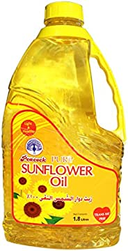 Peacock Pure Sunflower Oil, 1.8 Litre