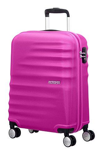 american-tourister-wavebreaker-4-rollen-trolley-67-cm-hot-lips-pink