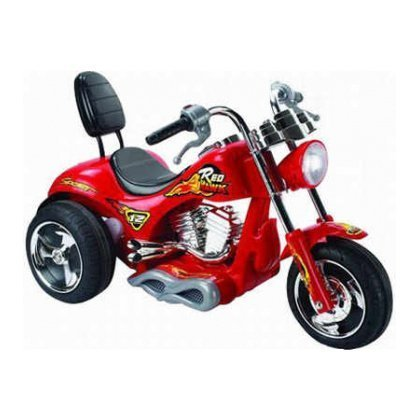 6-VOLT-KIDS-RIDE-ON-CHOPPER-TRIKE-MOTORBIKE-IN-RED-WITH-RECHARGABLE-BATTERY