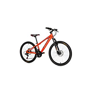 41ywzkEuX2L. SS300 Moma Bikes, Bicicletta Mountainbike 24BTT Shimano, Alluminio, Doppio Disco e Sospensione