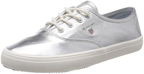 GANT Footwear Damen New Haven Sneaker, Silber (Silver), 40 EU