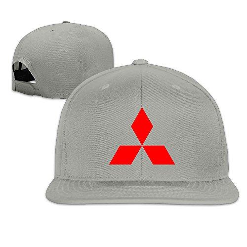 hittings-mitsubishi-symbol-snapback-baseball-cap-hats-ash