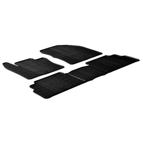 Gummi-Fußmatten-Set von Gledring, GL 0264 Reifen Toyota Corolla