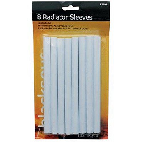 Radiator pipe covers sleeves whi...