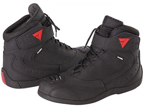 Modeka CITY RIDER Motorradstiefel Leder/Textil – schwarz Größe 44 - 2